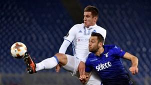Artem Besedin. Stefan De Vrij, Lazio, Dynamo Kiev, Europa League, 08032018