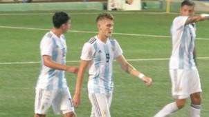 Facundo Colidio Argentina U20 Venezuela COTIF Lalcudia