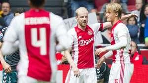 Davy Klaassen, Kasper Dolberg, Ajax - Go Ahead Eagles