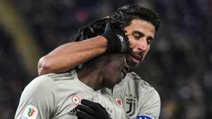 Moise Kean Sami Khedira Juventus 2018