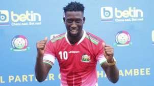 Farouk Shikhalo of Bandari and Harambee Stars.