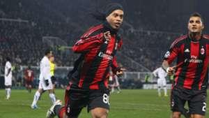 GERMANY ONLY Ronaldinho Kevin-Prince Boateng Milan