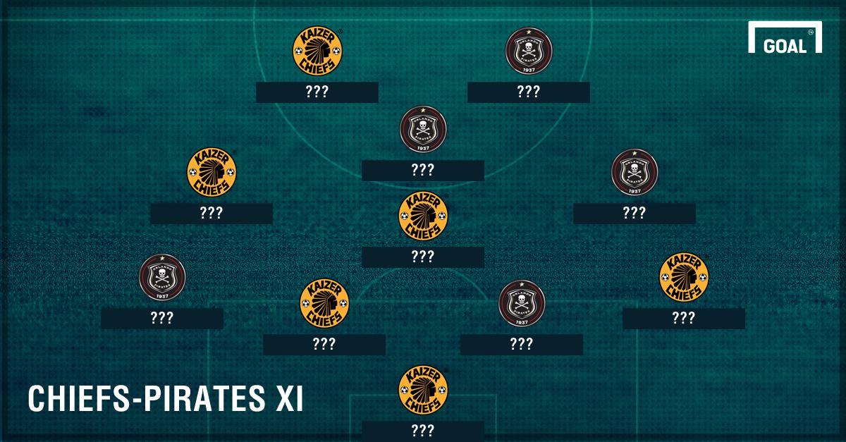 Chiefs-Pirates XI