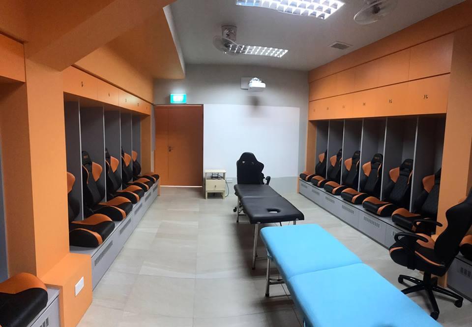 Hougang United dressing room