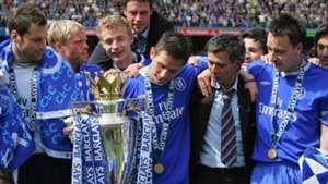 Jose Mourinho John Terry Frank Lampard Petr Cech Premier League