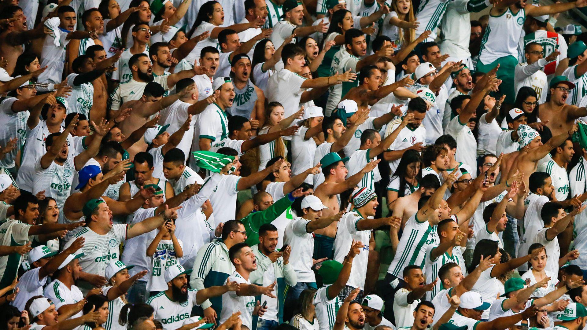 Torcida Palmeiras Barcelona-EQU Libertadores 09082017