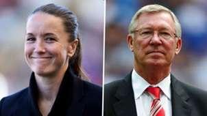 Casey Stoney Sir Alex Ferguson Man Utd