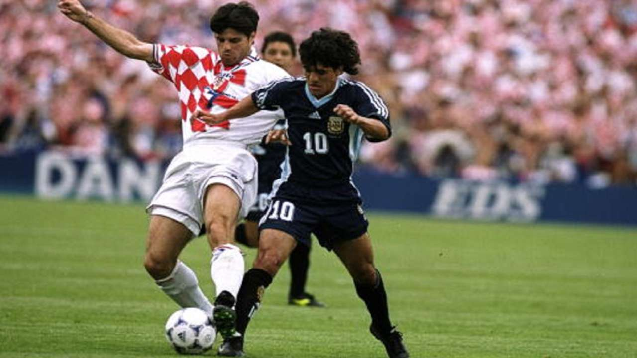 Croatia Argentina 1998 World Cup