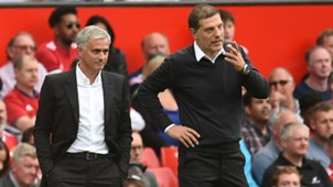 manchester united west ham united - premier league - jose mourinho slaven bilic - 13082017
