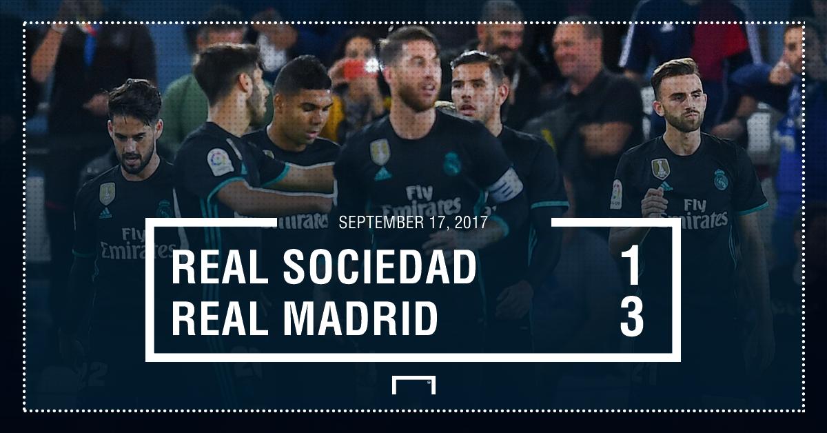 Real Sociedad real Madrid score