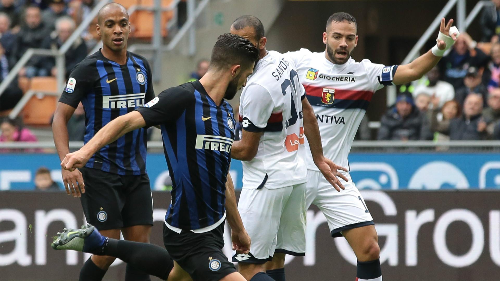 Politano Inter Genoa