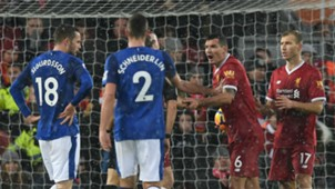 Dejan Lovren Liverpool Everton penalty