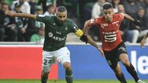 Hatem Ben Arfa Loic Perrin Ligue 1 10022019