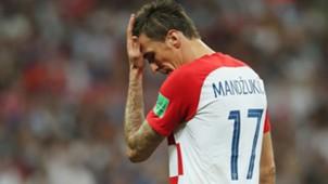 Mario Manduzkic own goal France Croatia World Cup final 15072018