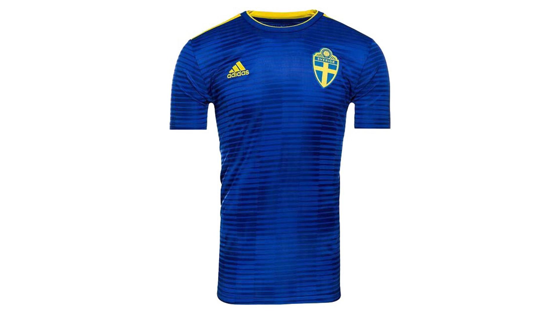 Suecia Camiseta Alternativa 2018 Filtrada Sweden Away Kit Leaked 6633ab033014d