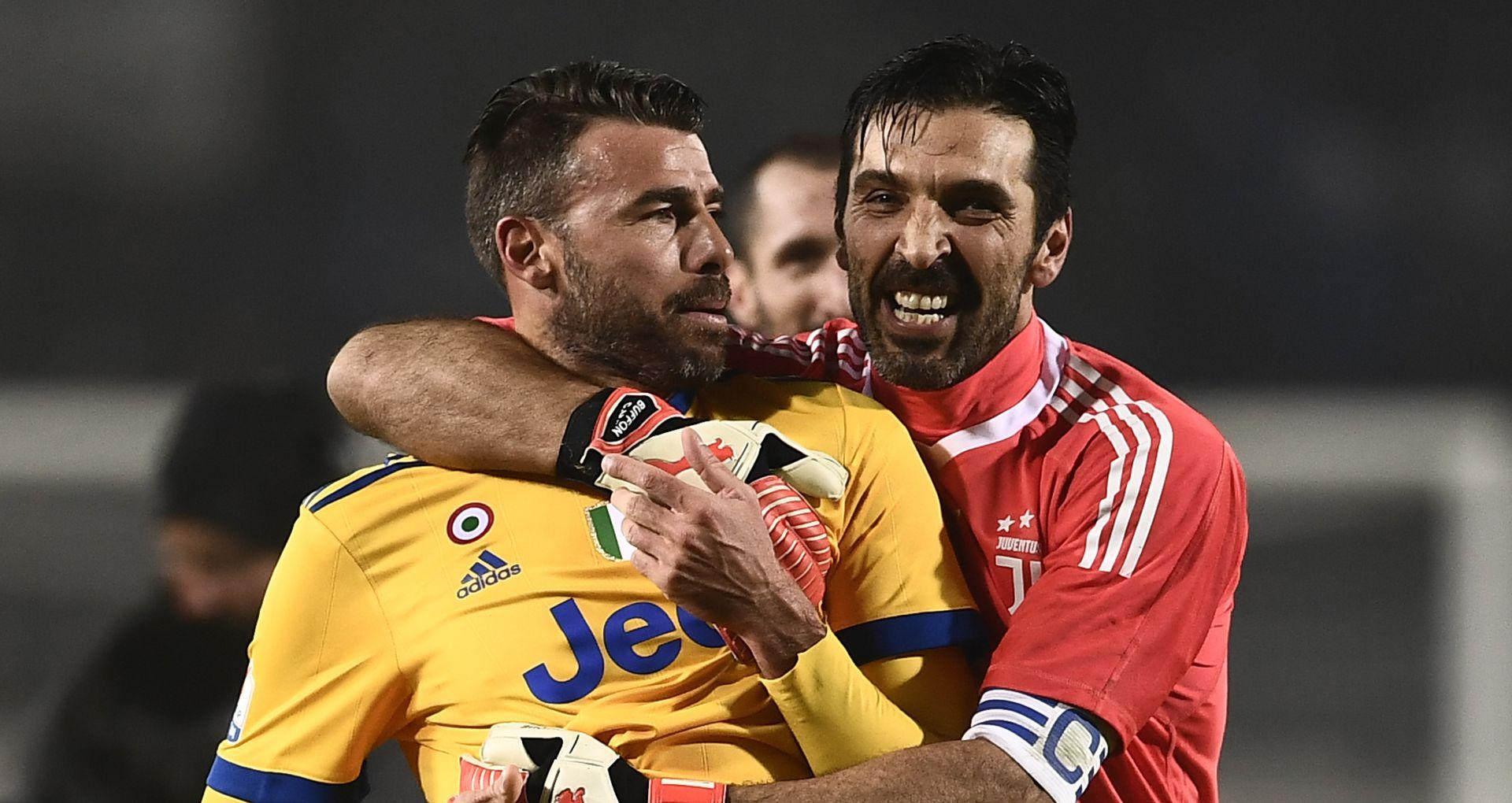 Gianluigi Buffon Andrea Barzagli Atalanta Juventus Coppa Italia