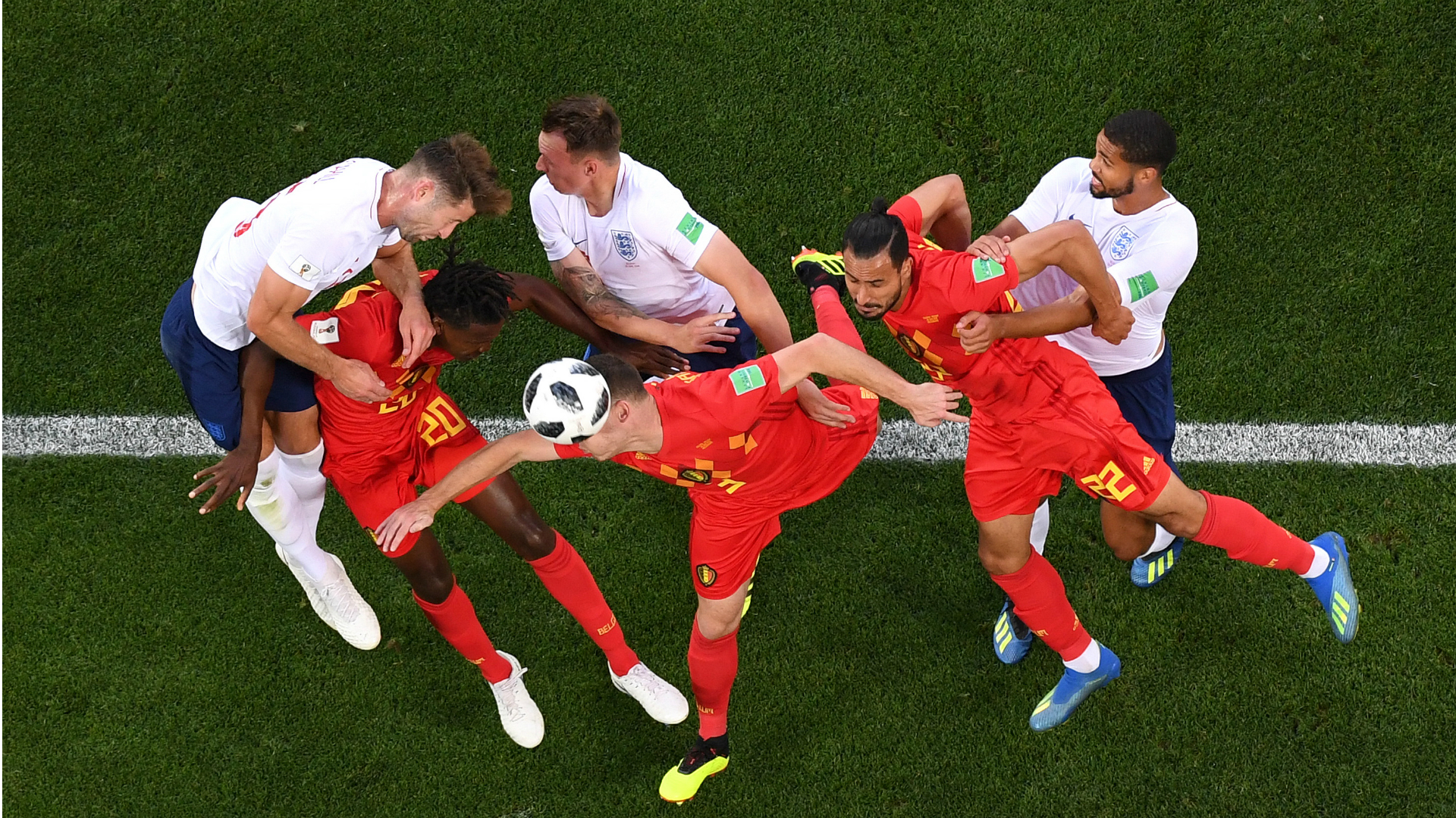 Belgium England World Cup 2018