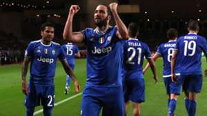 Gonzalo Higuain Monaco Juventus Champions League
