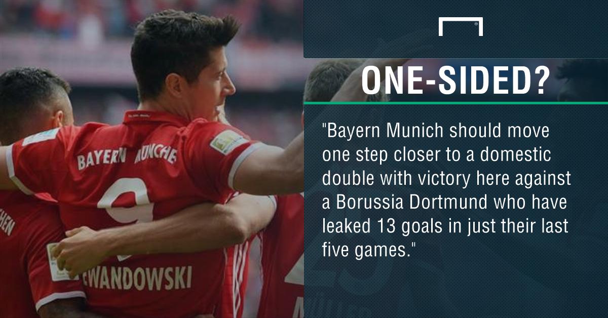 GFX Bayern Dortmund betting