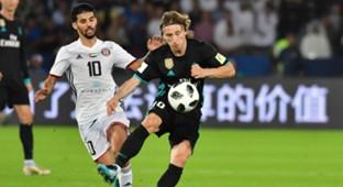 Luka Modric Real Madrid Al Jazira Club World Cup