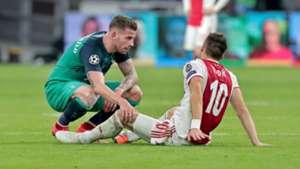 Toby Alderweireld Dusan Tadic Ajax - Tottenham Hotspur 05082019
