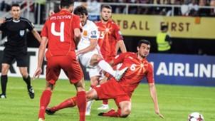 David Silva Spain Macedonia 110617