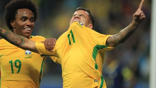 Willian Coutinho Brazil Ecuador Eliminatorias 2018 31082017