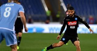 Lorenzo Insigne Lazio Napoli Serie A