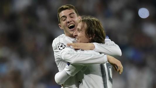 Mateo Kovacic Luka Modric Real Madrid