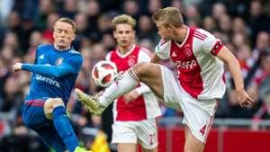 Matthijs de Ligt, Ajax - Feyenoord, Eredivisie 10282018