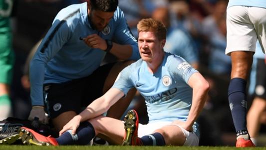 Manchester City in Sorge: Kevin de Bruyne mit Knieverletzung ausgewechselt