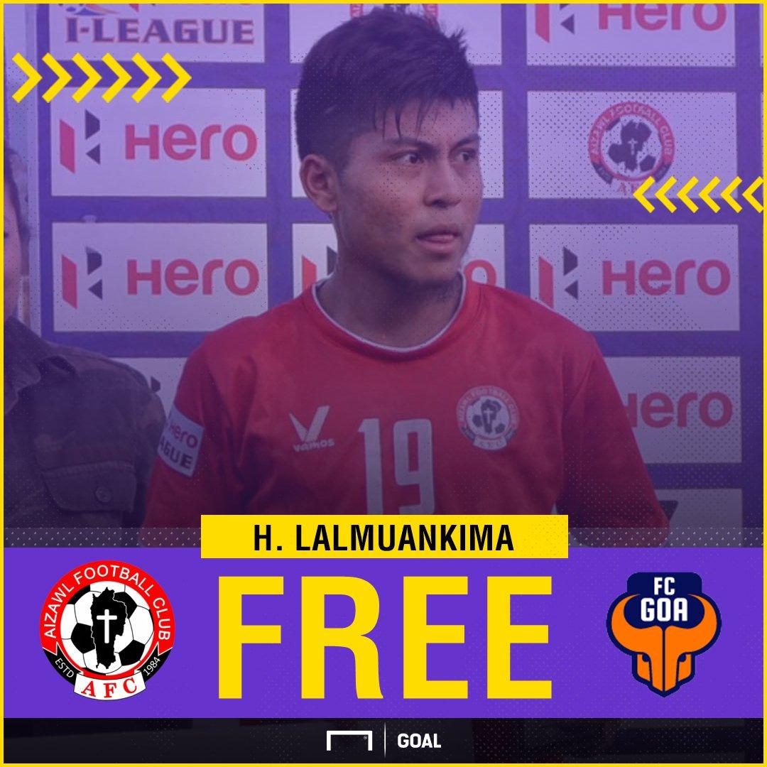 GFX H Lalmuankima Aizawl FC FC Goa