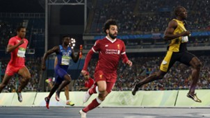 Mohamed Salah, Usain Bolt, Olympic Games