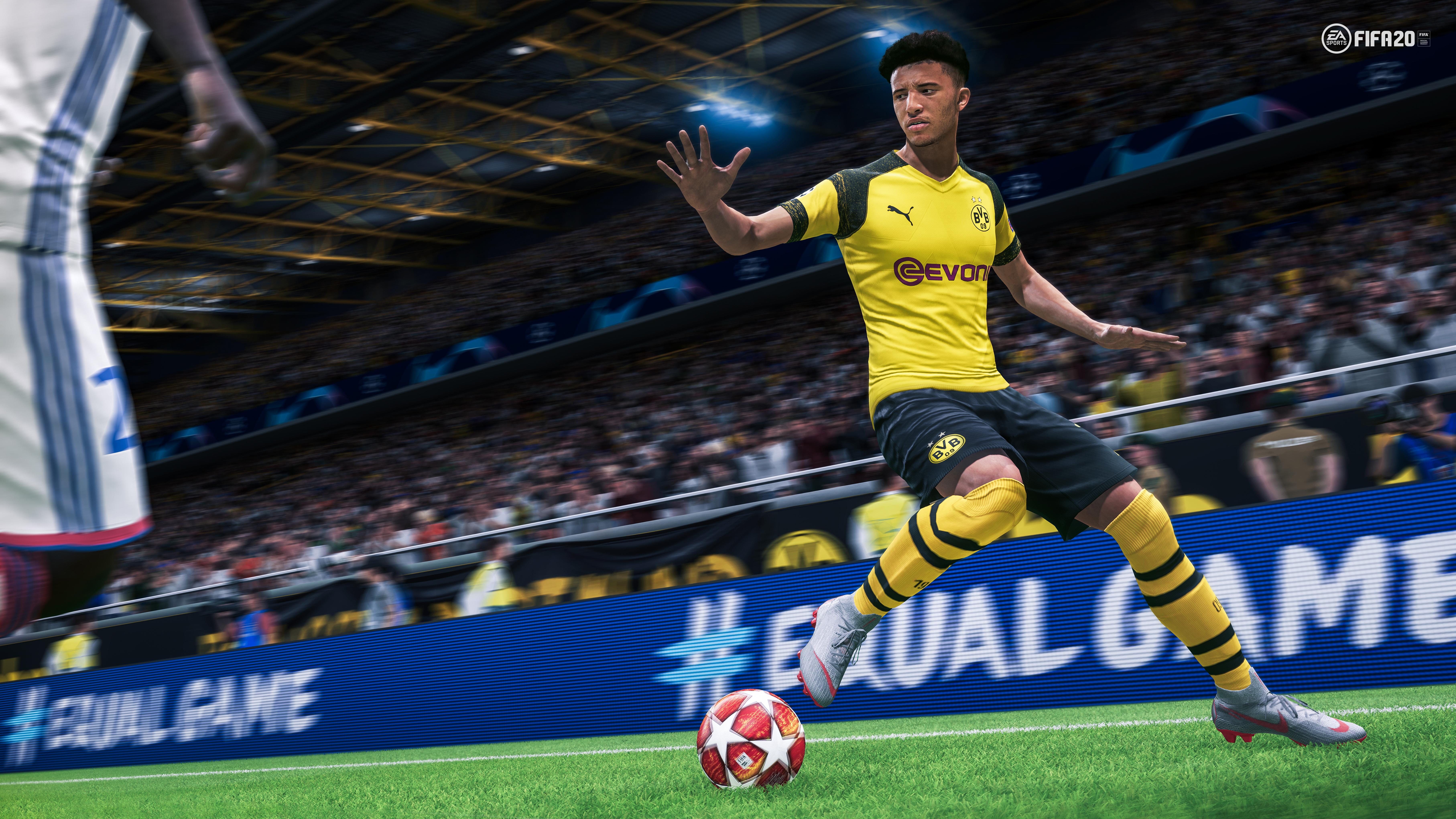Jadon Sancho FIFA 20
