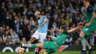Sergio Agüero Manchester City Tottenham 17042019