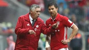 Xabi Alonso Carlo Ancelotti Bayern