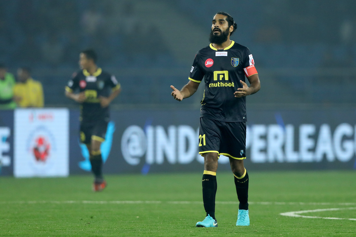 Delhi Dynamos Kerala Blasters Sandesh Jhingan