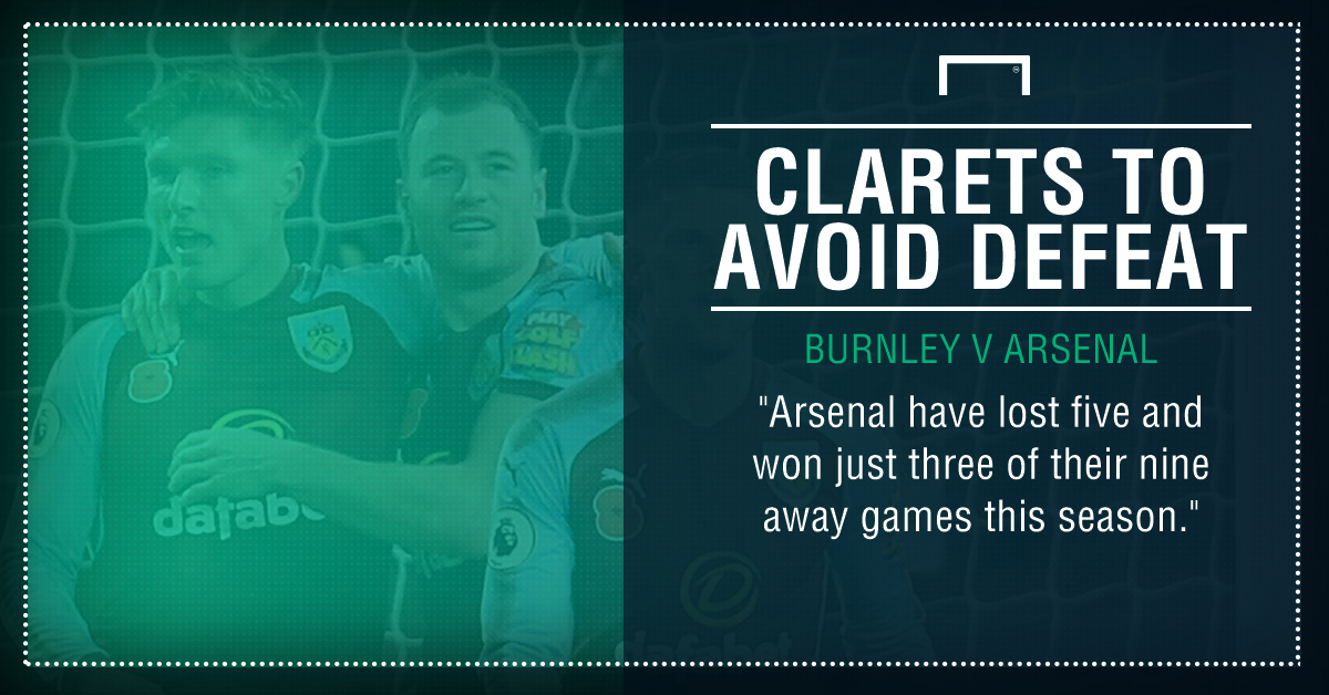 Burnley Arsenal graphic
