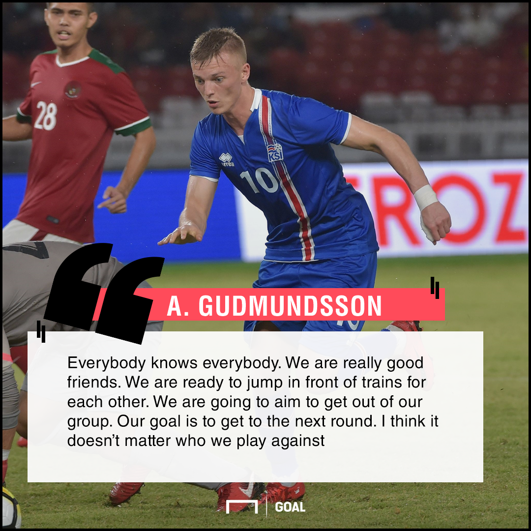 Iceland's Birkir Saevarsson prepared for Argentina by working in a factory