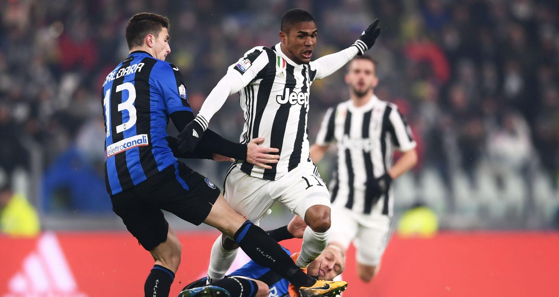 Douglas Costa Juventus Atalanta Coppa Italia