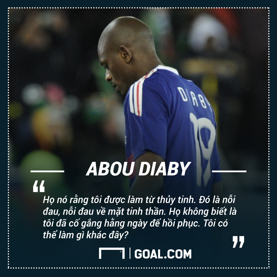 Abou Diaby's quote