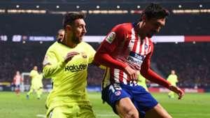 Stefan Savic Lionel Messi Atletico Madrid Barcelona 24112018