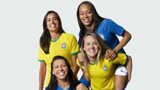 Women's World Cup 2019 kits Brazil