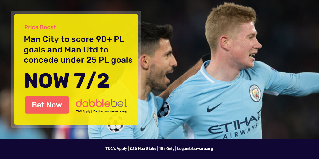 Manchester City United dabble of the day graphic