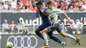 Josip Stanisic Timothy Weah Bayern PSG 22072018
