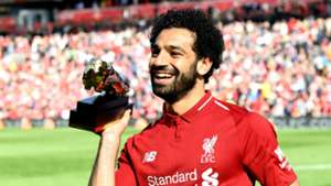 Mohamed Salah Liverpool Golden Boot 2017-2018