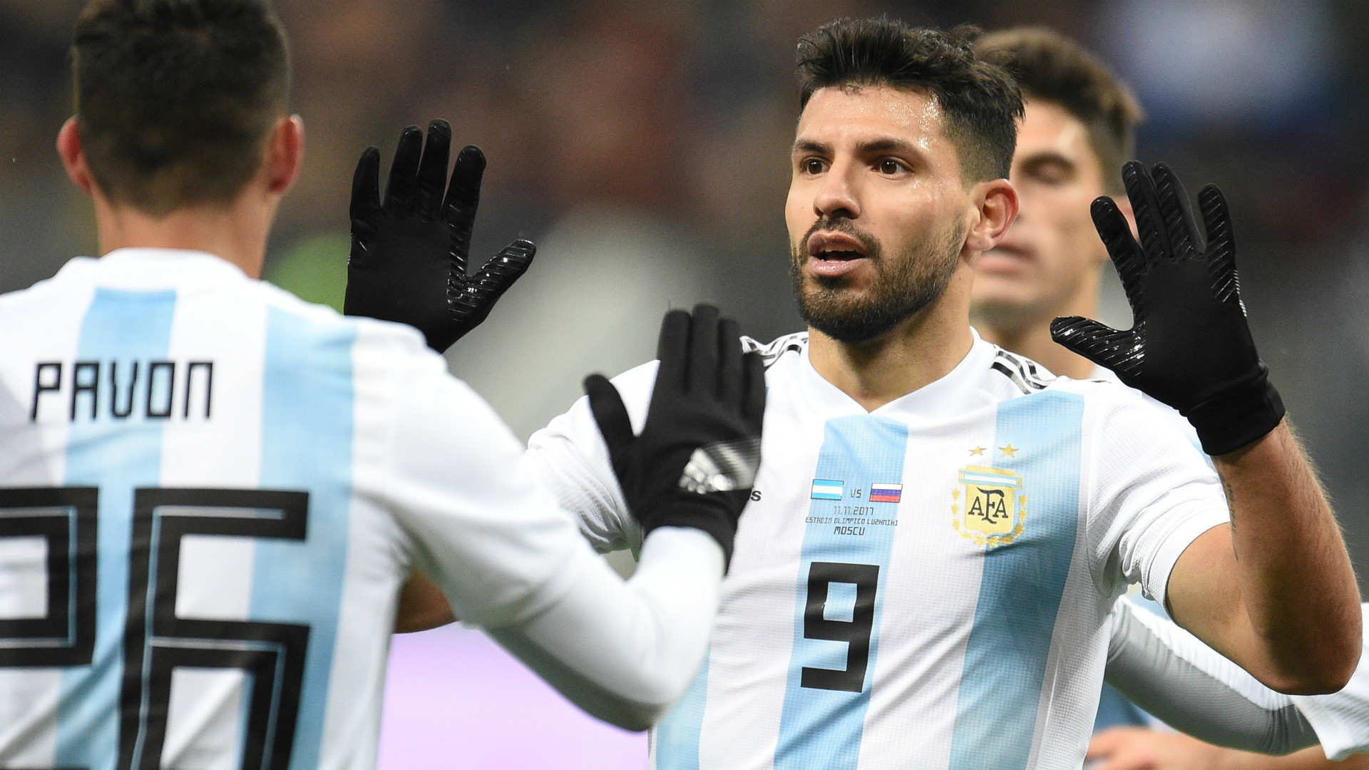 Sergio Aguero faints at half-time, taken to hospital during Argentina v Nigeria