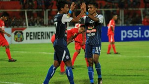 Selebrasi Dedik Setiawan - Arema FC