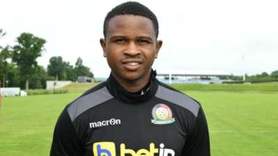 John Oyemba of Kariobangi Sharks and Harambee Stars.
