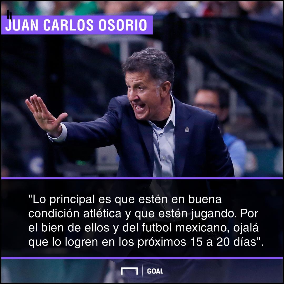 Juan Carlos Osorio quote
